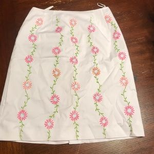 Pretty Skirt with Embroidery.